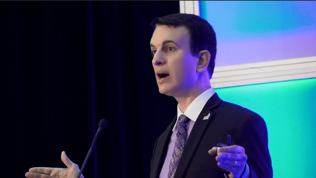 """APEX CEO suggested """"green listing"""" passengers as cleared to carry electronics on restricted routes through the biometric facial recognition initiative in place of the electronics ban, while speaking at Aviation Festival Americas alongside major airlines and the U.S. Department of Homeland Security Customs and Border Protection."""