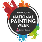 Sherwin-Williams National Painting Week, May 19-29, 2017