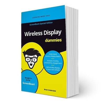 ScreenBeam Introduces 'Wireless Display For Dummies,' ScreenBeam Special Edition