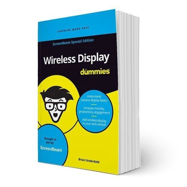 """ScreenBeam Introduces """"Wireless Display For Dummies,"""" ScreenBeam™ Special Edition"""