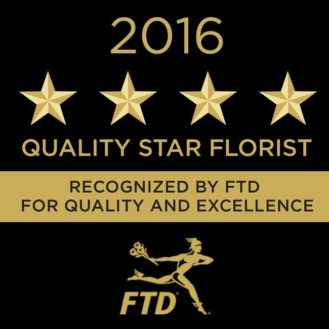 Arizona Florist Awarded Prestigious FTD Quality Star Award for Excellence in Quality and Customer Service