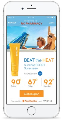 AccuWeather and Swirl Networks Mobile Marketing