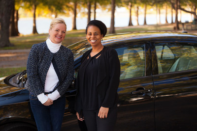 Michelle Corson, founder and CEO of On The Road Lending with client Ericka Griffin (Photographer/John B. Sutton, Jr., Sutton Pictures) (PRNewsfoto/Toyota Motor North America)