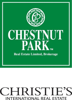 Chestnut Park Real Estate's iconic lawn sign (CNW Group/Peerage Realty Partners Inc.)
