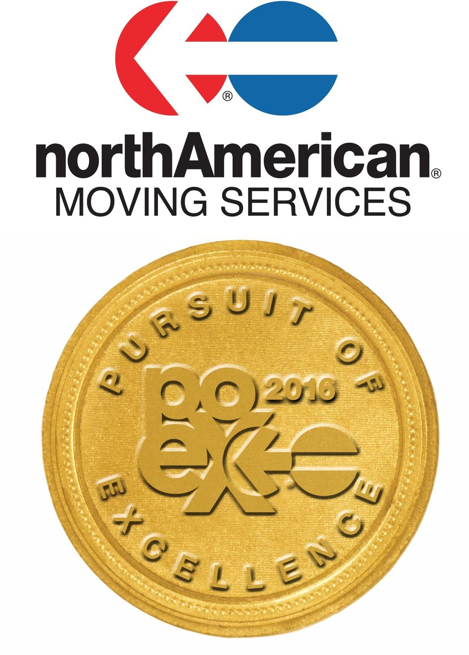 northAmerican® Van Lines proudly announces the 2016 Class of Pursuit of Excellence Winners. Pursuit of Excellence winners personify northAmerican's strong commitment to providing moving customers with a consistently exceptional level of service.