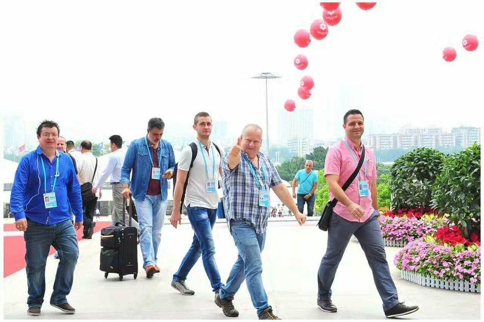 La edición 121 de la Feria de Cantón concluye con 6,9% de crecimiento en el volumen de negocios (PRNewsfoto/Canton Fair)