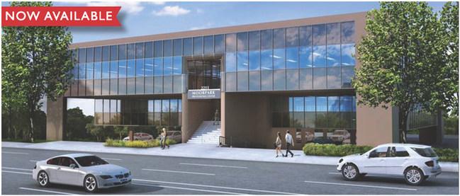 Rendering of Moorpark Professional Center.