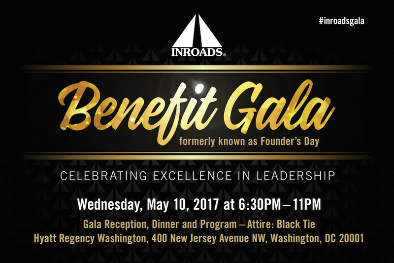All proceeds from the INROADS Benefit Gala help continue INROADS' leadership and career development programs.