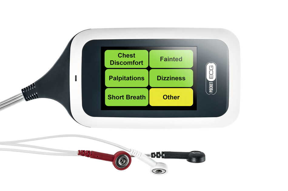 The PocketECG mobile cardiac telemetry system, prescribed by physicians to monitor arrhythmia patients for up to 30 days, now includes an accelerometer feature, allowing cardiologists and nurses to differentiate between heart rate changes triggered by physical activity and those triggered by an arrhythmia. Enhanced reporting provides correlation between a patient's physical activity, symptoms and various types of arrhythmia.