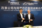 Jet Jing, Vice President of Alibaba Group and Mike Spanos, PepsiCo GCR President & CEO.  Credit: PepsiCo