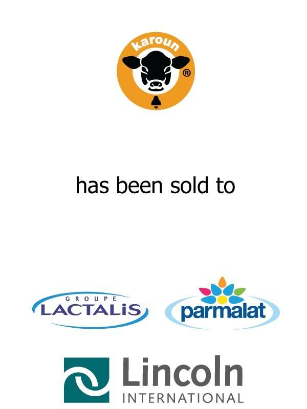 Lincoln International Represents Karoun Dairies in its Sale to Parmalat
