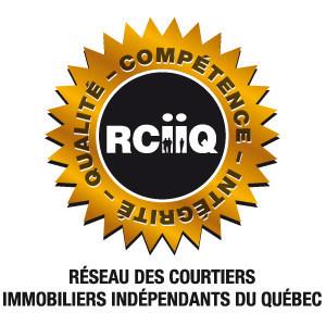 Sceau du Réseau des courtiers immobiliers indépendants du Québec (Groupe CNW/Réseau des courtiers immobiliers indépendants du Québec)