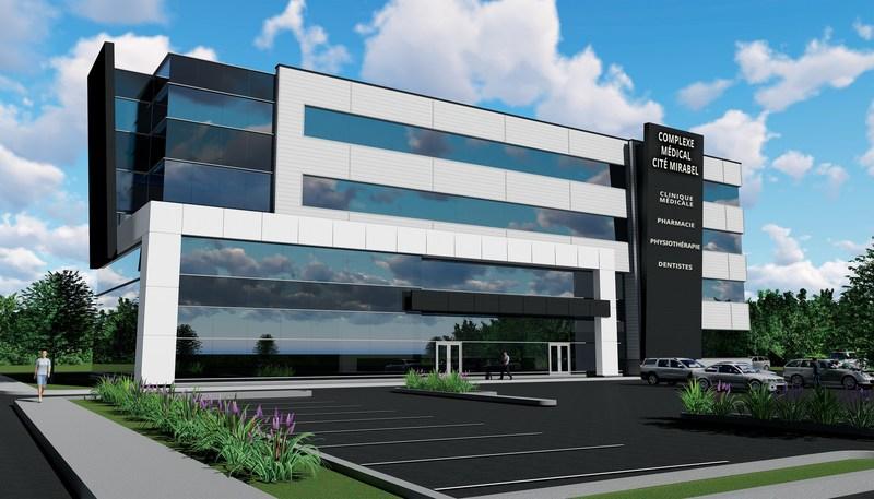 Complexe Médical Cité Mirabel (Groupe CNW/Investissement Ray Junior inc.)