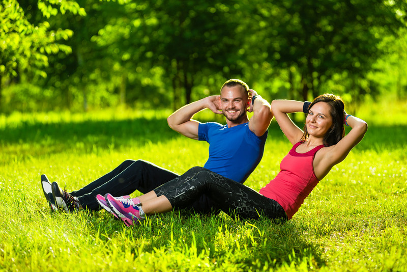 You don't need a gym or special equipment to exercise -- just an open space!