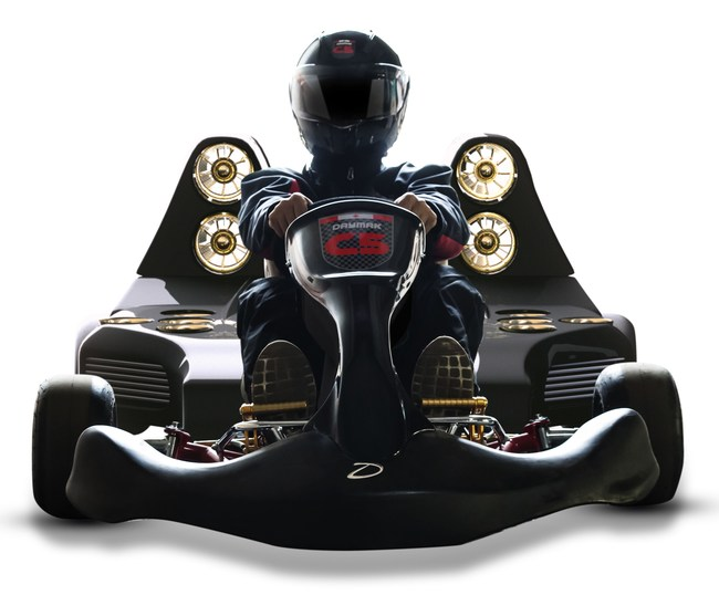 The Daymak Blast C5 Go-Kart - The Fastest Electric Go-Kart in the World