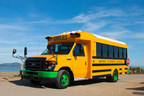 Sacramento school districts are leading the way in transitioning California's school bus fleets to all-electric with 13 Motiv powered zero-emission school buses for its Elk Grove and Twin Grove School Districts. (PRNewsfoto/Motiv Power Systems)
