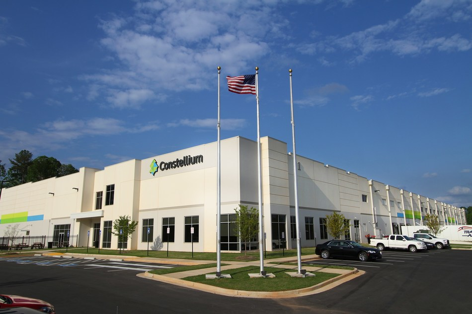 Constellium's new plant in White, GA is dedicated to the production of advanced aluminium automotive structural components and crash management systems.