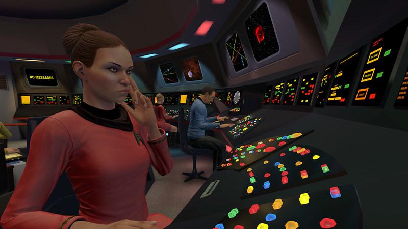 Watson powers in-game natural language conversation for Star Trek: Bridge Crew from Ubisoft.