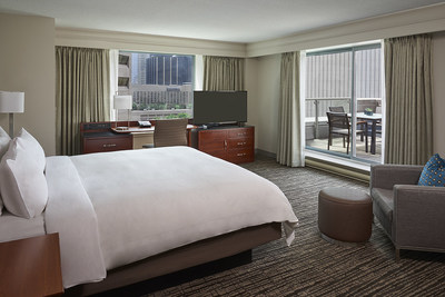 Toronto Marriott Downtown Eaton Centre Hotel, YYZEC (CNW Group/Marriott Hotels & Resorts Canada)