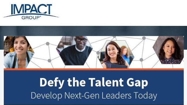 """""""Defy the Talent Gap"""" takes a deep dive into the global talent shortage, addressing real-time organizational leadership issues. The eBook identifies where critical leadership competencies are lagging, factors that minimize retention of key talent and action steps to effectively address the talent gap head on."""