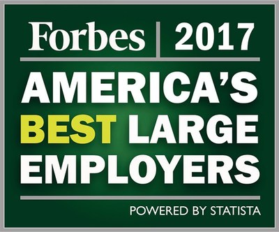 Forbes America's Best Large Employers 2017