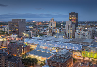 Montréal is the city that hosted the most international conventions in North America according to the 2016 ICCA rankings. (CNW Group/Palais des congrès de Montréal)
