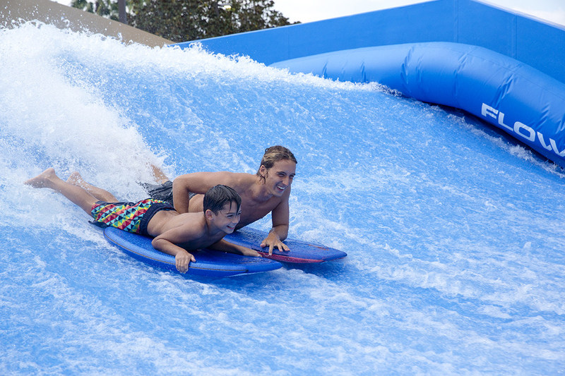 Summer pool parties during SummerFest at Gaylord Hotels