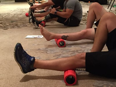 Want to get rolling? It's National Foam Rolling Day, and Wounded Warrior Project has some tips on how maximize your stretching.