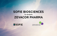 SOFIE BIOSCIENCES TO ACQUIRE ZEVACOR PHARMA