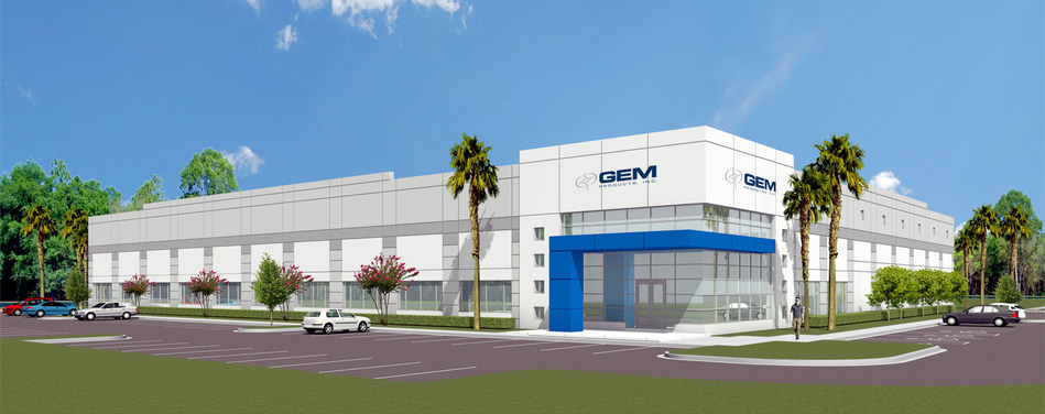 GEM Products, Inc. - Ground-Breaking Commencement Rendering