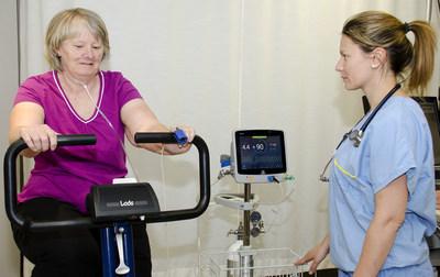 La technologie FreeO2 constitue une avancée technologique spectaculaire en oxygénothérapie. (Groupe CNW/Desjardins-Innovatech)