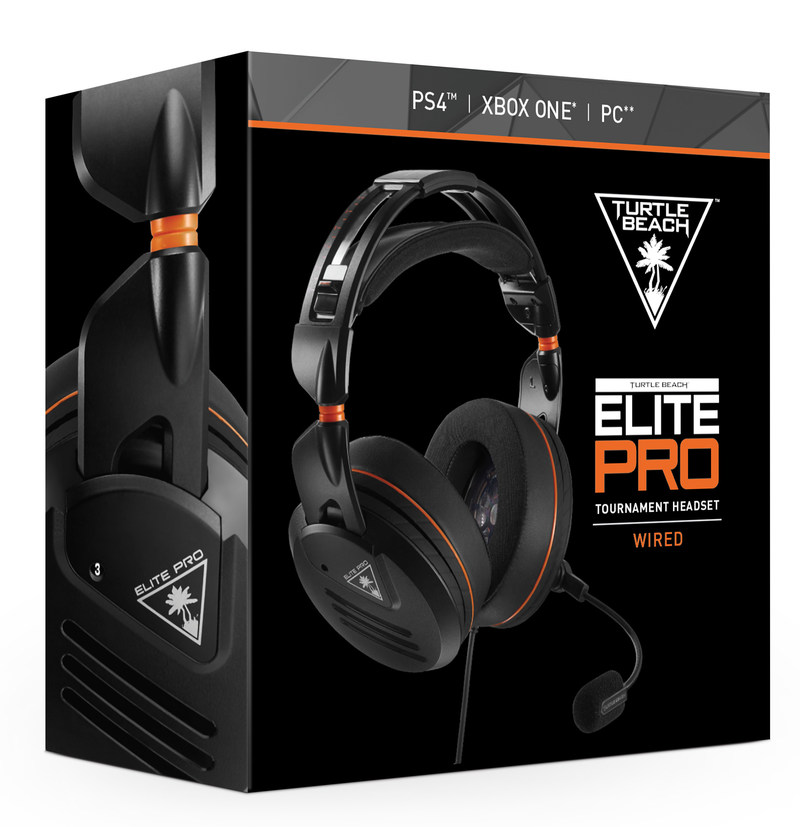The TURTLE BEACH(R) ELITE PRO is the first gaming headset designed from the ground-up for today's generation of eSports athletes and hardcore gamers. Elite eSports performance, ultimate comfort...this is ELITE PRO!