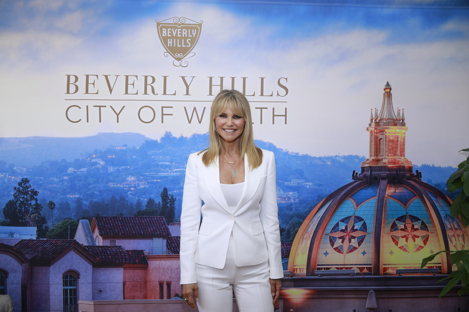 Christie Brinkley at City of WELLTH Launch Event