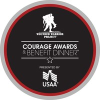 Wounded Warrior Project will recognize two of its corporate partners at the Courage Awards and Benefit Dinner.