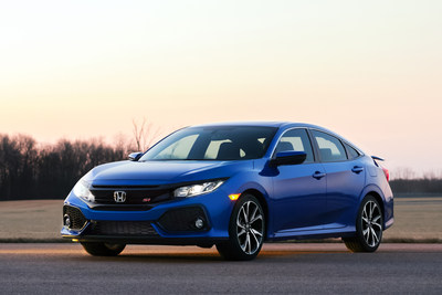 The 2017 Civic Si Sedan - Honda's first ever turbocharged Civic Si
