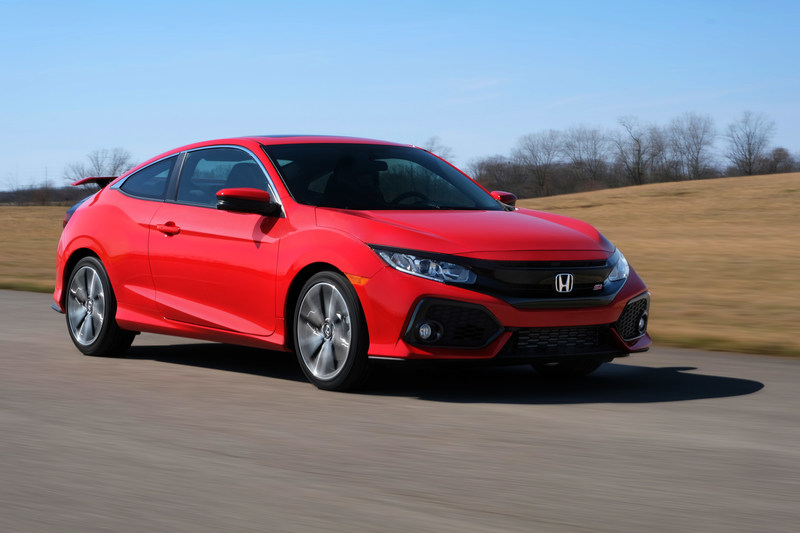 The 2017 Civic Si Coupe - Honda's first ever turbocharged Civic Si