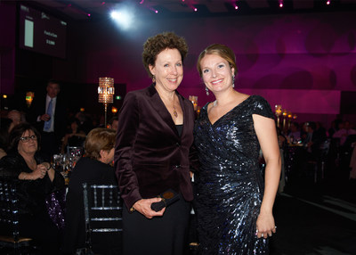 Allison Elliott (founder of the RAP foundation) and Kathleen Thompson-Crispi (CNW Group/Crohn's and Colitis Canada)