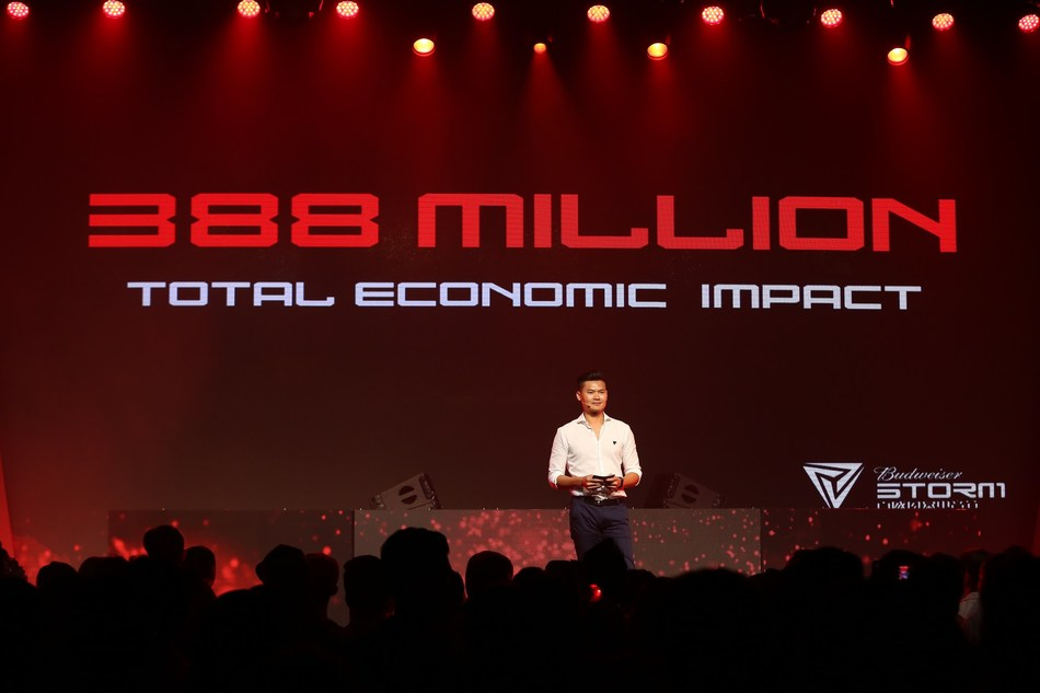 The 5 STORM festivals last year bring over 388 million RMB in GDP to our host cit