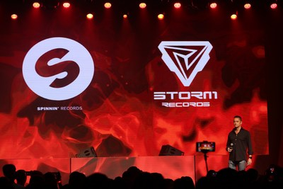 Storm Records partnership with Spinnin' Records