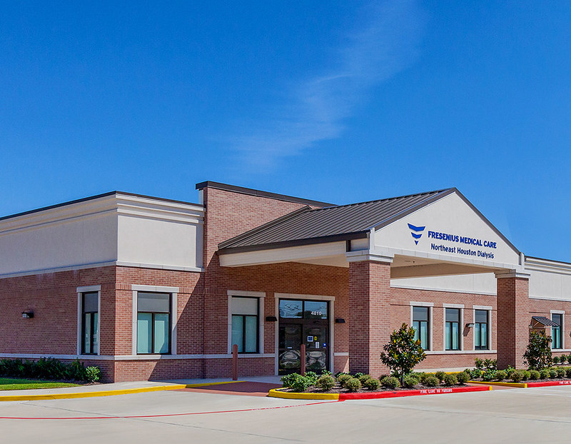 In addition, NAS assumes property management and asset management responsibilities for five, newly constructed medical office properties located in Texas, Pennsylvania, Ohio and Massachusetts. Pictured is the medical office property occupied by Fresenius Medical in North Houston.