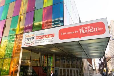 Du 15 au 17 mai 2017, le Palais des congrès de Montréal accueillera le Sommet mondial des transports publics de l'UITP. (Groupe CNW/Palais des congrès de Montréal)