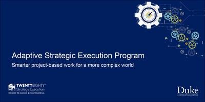 TwentyEighty Strategy Execution and Duke Corporate Education Announce New Partnership