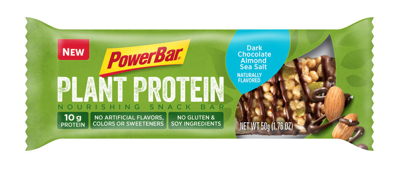 PowerBar Plant Protein Dark Chocolate Almond Sea Salt