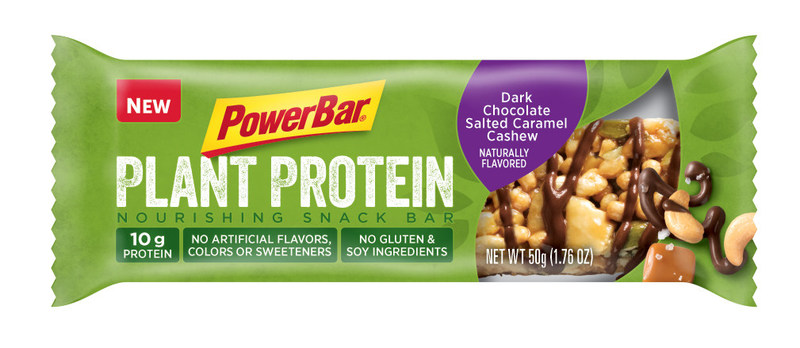 PowerBar Plant Protein Dark Chocolate Salted Caramel Cashew