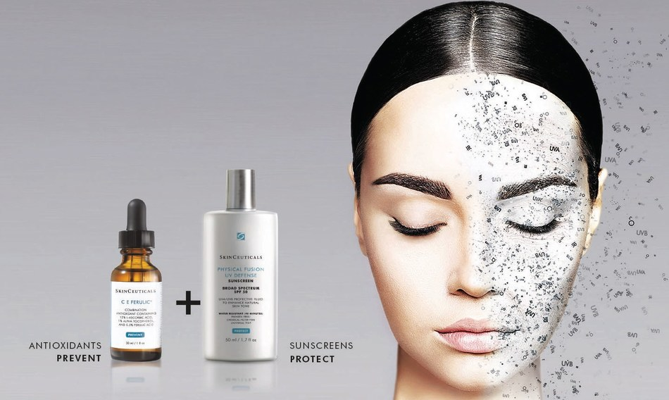 SkinCeuticals Announces A Breakthrough in Pollution Protection: New FinContact:  Alyssa Keller at Alison Brod Marketing + Communications: (212) 230-1800/AlyssaK@alisonbrodmc.com Laura Cummins at SkinCeuticals: (212) 984-4907/LCummins@skinceuticals.com dings Prove Antioxidants Protect Against the Effects of Atmospheric Skin Aging