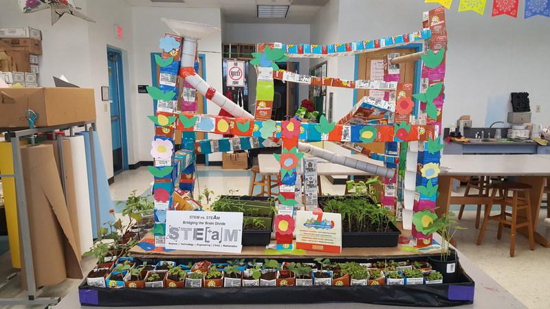 """Elementary School Winner -- Bel-Aire Elementary School, Miami, Florida – """"STEaM Garden Machine"""""""