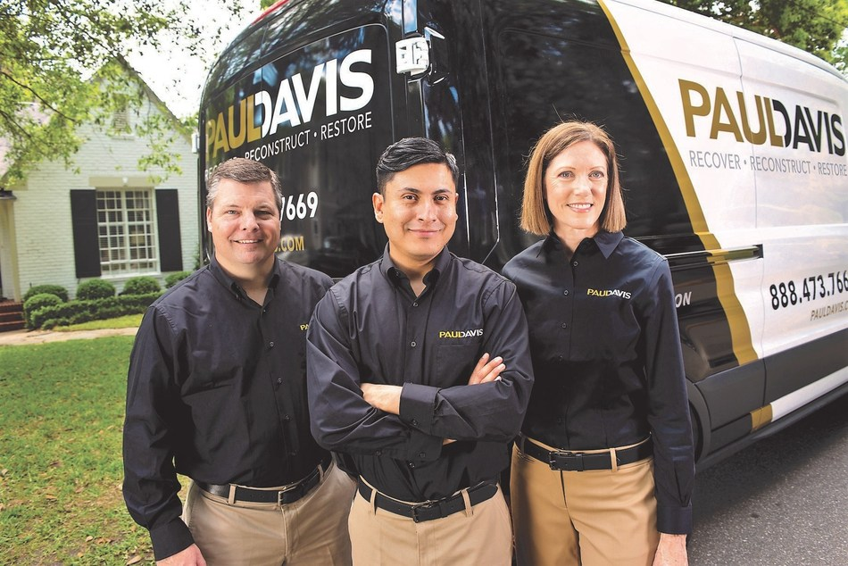 Paul Davis Team: The company has been awarded a GSA contract.