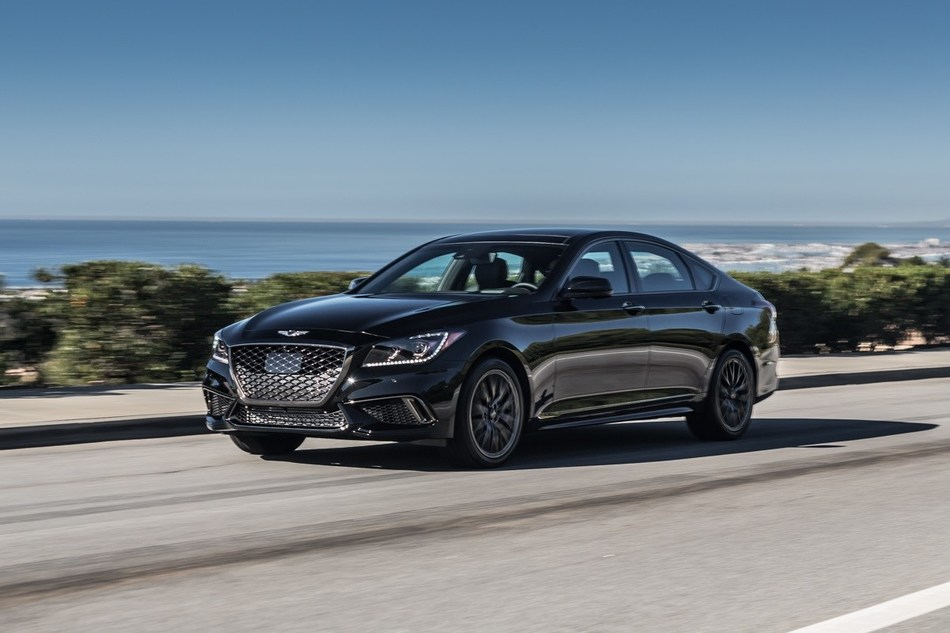 2018 GENESIS G80 SPORT BOASTS POTENT TURBOCHARGED ENGINE AND BOLD, DISTINCTIVE STYLING