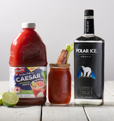 Polar Ice vodka announces national partnership with French's™ Not Your Ordinary Caesar™ Cocktail Mix just in time for National Caesar Day on May 18th. (CNW Group/Polar Ice Vodka)