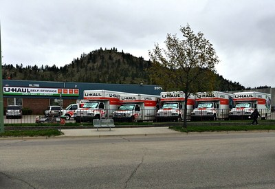 U-Haul Company of British Columbia is offering 30 days of free U-Box container usage to residents in and around Kelowna who have been or will be impacted by flooding.